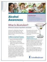 Alcohol Awareness: Version 1 - UHC Tools
