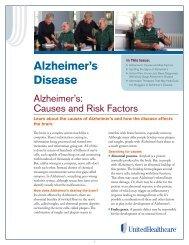 Alzheimer's Disease - UHC Tools