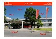 6 - W - Café - FB 4 Allgemein - Fachhochschule Düsseldorf
