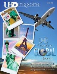 UHD Magazine - Winter 2012 - the University of Houston-Downtown!