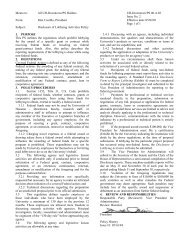 Disclosure of Lobbying Activities Policy - the University of Houston ...