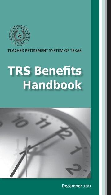 TRS Benefits Handbook