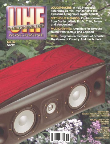 download the PDF version - Ultra High Fidelity Magazine