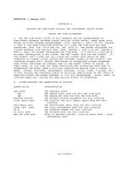 1 January 2001 *APPENDIX B MAXIMUM PER DIEM RATES ...