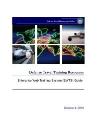 Enterprise Web Training System (EWTS) Guide - DTMO