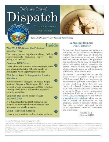 Volume, V, Issue 1, Spring 2012 - DTMO