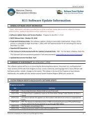 R11 Software Update Information – Defense Travel Management