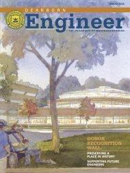 UMD Engineer Spring 05.indd - University of Michigan - Dearborn ...
