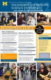 Download Contest Flyer - University of Michigan - Dearborn ...