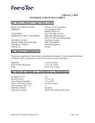 Download the emg700msds.pdf - Ferrotec