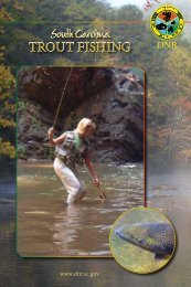 TROUT FISHING - South Carolina Department of Natural Resources