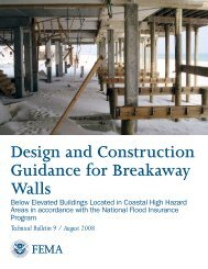 Design and Construction Guidance for Breakaway Walls - Federal ...