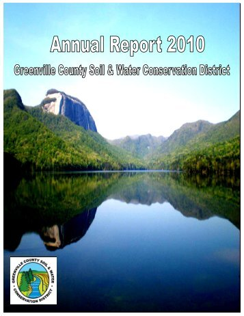 2010 Greenville Conservation District's Annual Report (PDF 2MB)