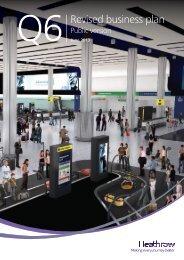 Q6 Revised Business Plan - June 2013 - Heathrow Airport