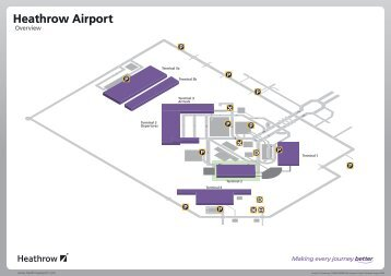 Find terminal facilities on a Stansted Airport map PDF format