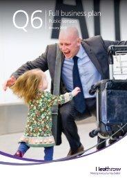 Q6 Full Business Plan - Heathrow Airport
