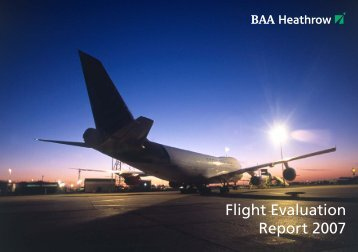 Flight Evaluation Report 2007 - Heathrow Airport