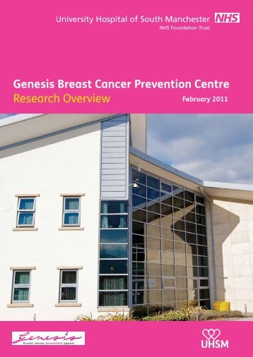 Genesis Breast Cancer Prevention Centre Research ... - UHSM