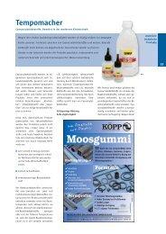 Moosgummi - bei UHU Industrie und Handwerk