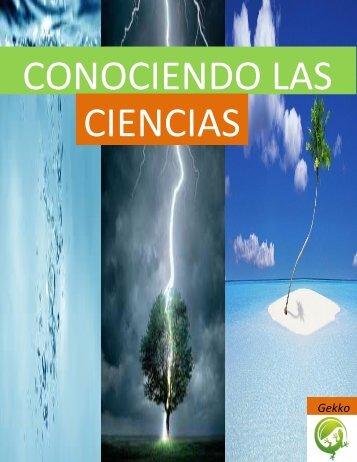 CONOCIENDO LAS CIENCIAS