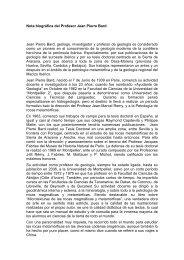 Biografía Jean Pierre Bard - Universidad de Huelva
