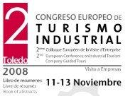 resumen del 2º congreso europeo de turismo industrial (2008)