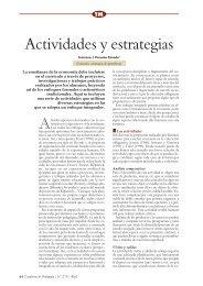 Actividades y estrategias - Centro de Documentación