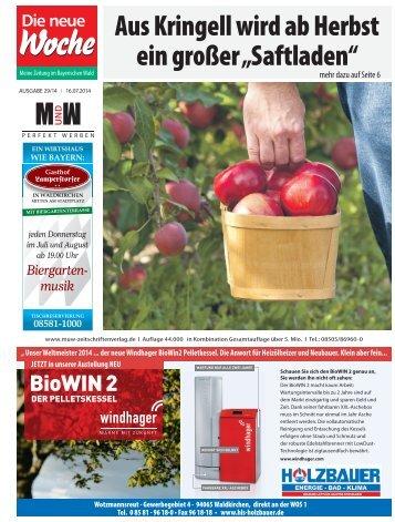 """Aus Kringell wird ab Herbst ein großer """"Saftladen"""""""
