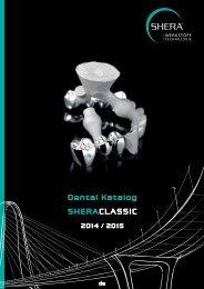 SHERACLASSIC Dental Katalog 2014/2015