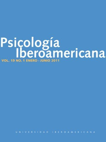 19 No. 1 - Universidad Iberoamericana