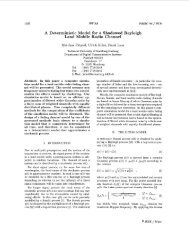 A Deterministic Model for a Shadowed Rayleigh Land Mobile Radio ...