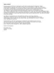 Studieprogram 2006.pdf - Universitetet i Agder
