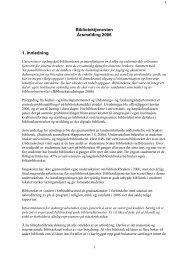 Årsmelding 2006 - Universitetet i Agder