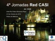Programa 4ª Jornada Red CASI - UIB Congres