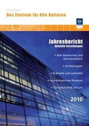 Jahresbericht 2010.indd - Universität Innsbruck