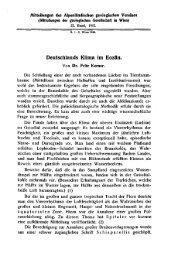 Deutschlands Klima im Eozän.