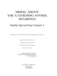 Rising Above the Gathering Storm, Revisited: Rapidly Approaching