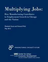Multiplying Jobs: - University of Illinois at Chicago