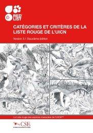 Catégories et Critères de la Liste rouge de l'UICN - The IUCN Red ...