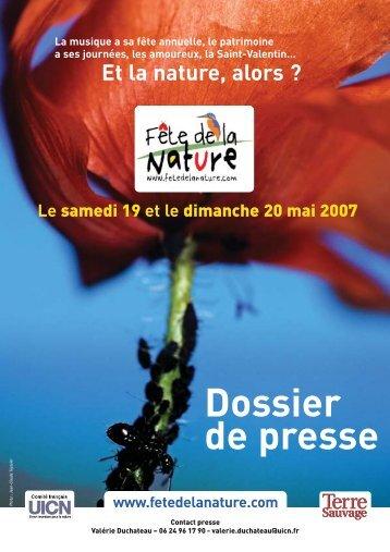 Dossier de presse - Comité français de l'UICN