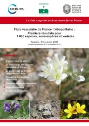 Liste rouge de la Flore vasculaire de France métropolitaine