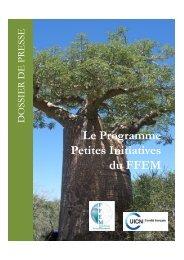 Dossier de presse FFEM - Comité français de l'UICN