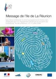 Message de l'île de la Réunion - Comité français de l'UICN