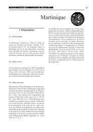 Martinique - Comité français de l'UICN