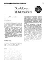 Guadeloupe et dépendances - Comité français de l'UICN
