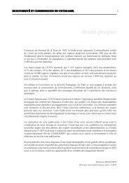 Avant-propos - Comité français de l'UICN