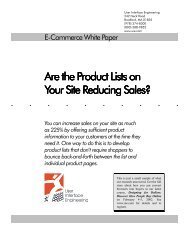 Are the Product Lists on Are the Product Lists on Your Site Reducing ...