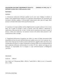 DELLA PA- CONSIGLIO DI STATO, SEZ. IV