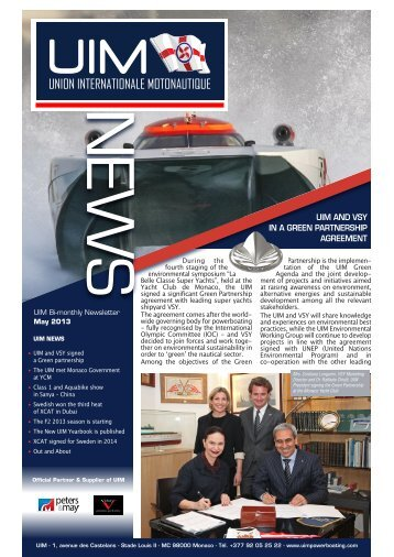 to download the Newsletter n° 23 - UIM