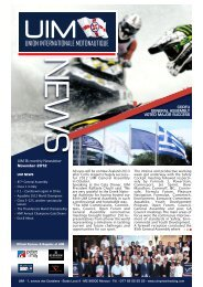 Newsletter 20 / 2012 - UIM